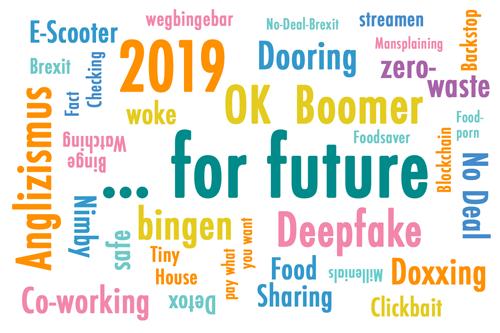 Anglizismus 2019: … for future